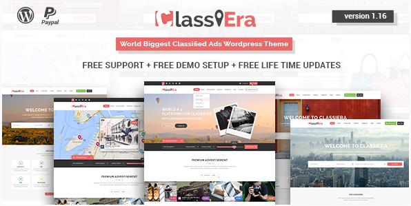 Classiera – Classified Ads WordPress Theme
