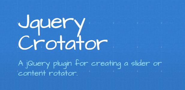 Crotator : jQuery Slider or Content Rotator