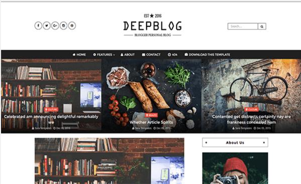 Deep Blog