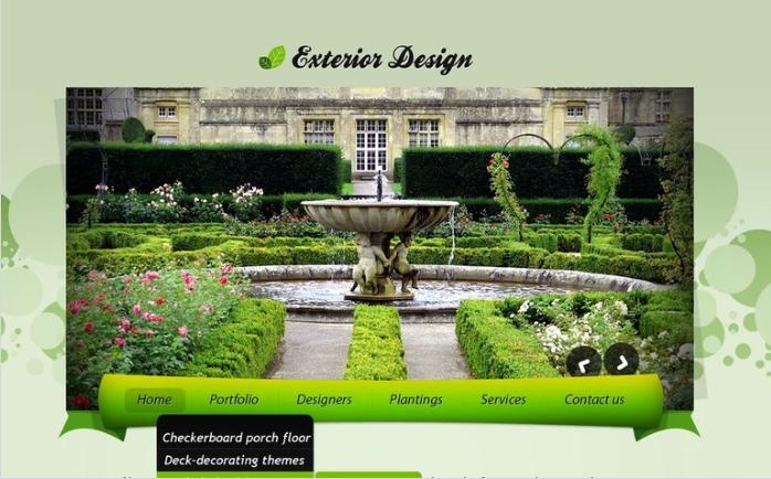 Best Exterior Design PSD Design Templates
