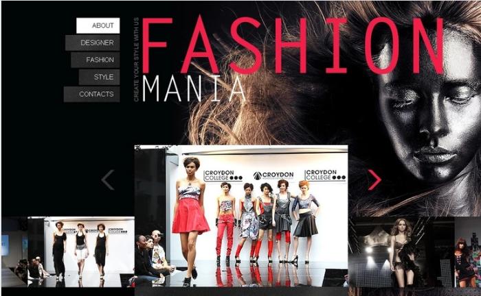 Fashion PSD Template