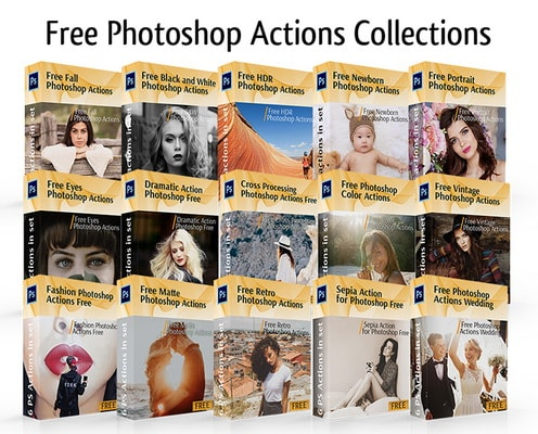 Fix the Photo free actions