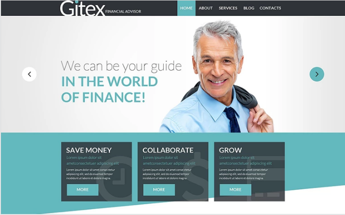 Gitex PSD Template