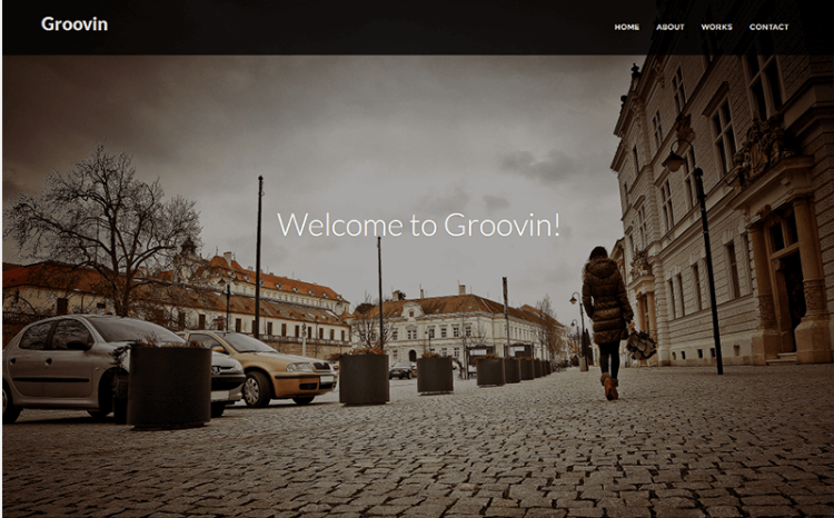 Groovin – Free Bootstrap