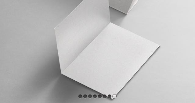 Half Fold A4 Psd Mockup Vol3
