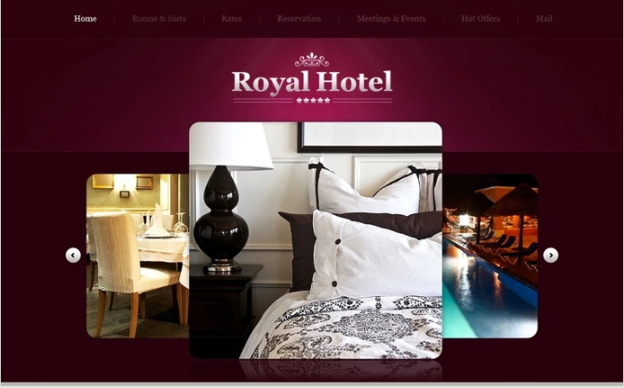 Best Hotel PSD Design Templates
