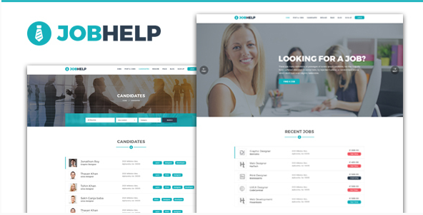Jobhelp - Job Board PSD Template