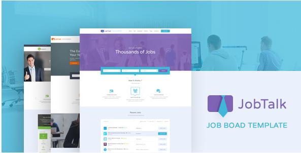 Jobtalk - Job Board PSD Template