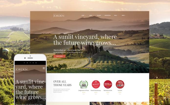 Jorden - Wine & Winery WordPress Theme