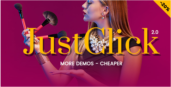 JustClick - Powerful Video Template