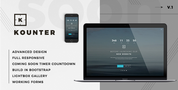 Kounter - Coming Soon Template