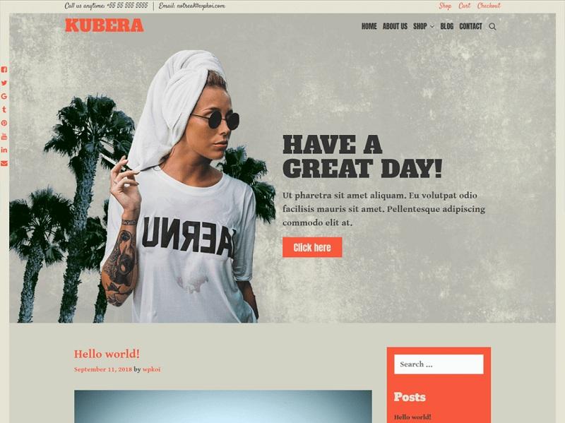 Free WooCommerce WordPress Themes