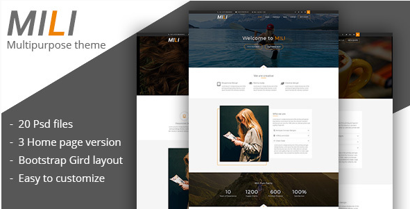 MILI - A Multipurpose PSD Template