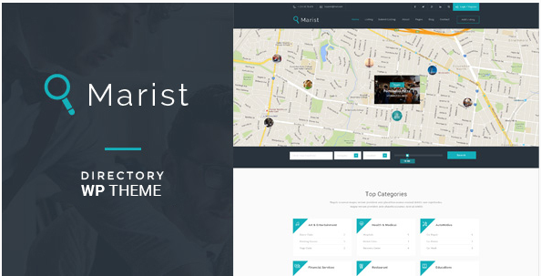 Marist - Directory & Listings WordPress Theme