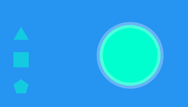 Material Design Shape Slider with jQuery & SVG