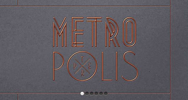 Metropolis Psd Text Effect-Free Mockup Templates