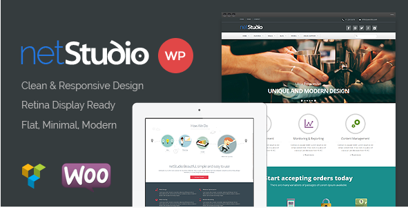Netstudio - Multipurpose Responsive Theme