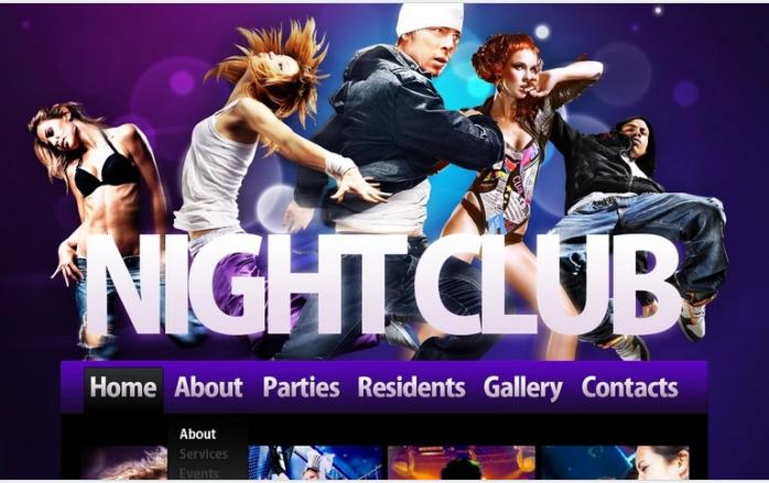 Best NightClub PSD Design Templates