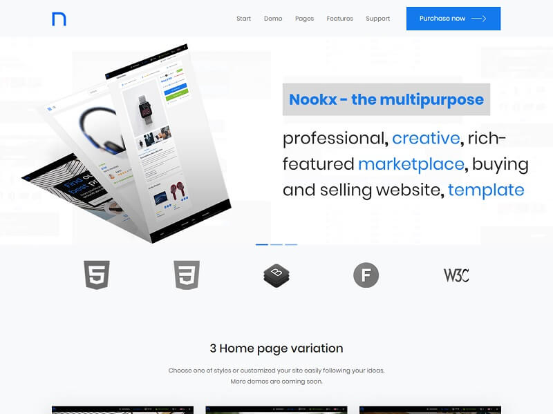 Nookx Admin Panel Templates