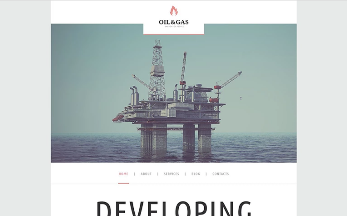 Oil Gas Company WordPress Theme