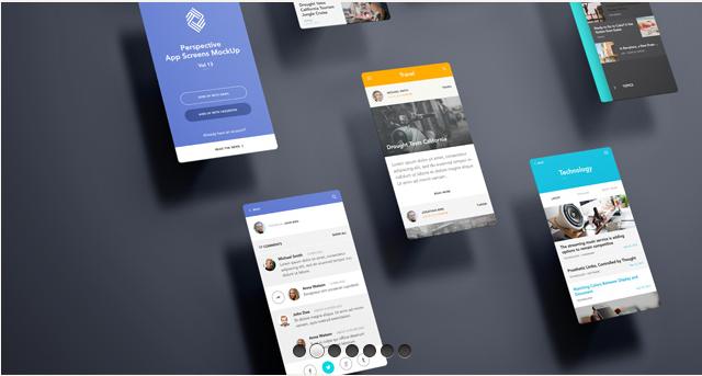 Perspective App Screens Mock-Up 13