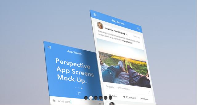Perspective App Screens Mock-Up 14