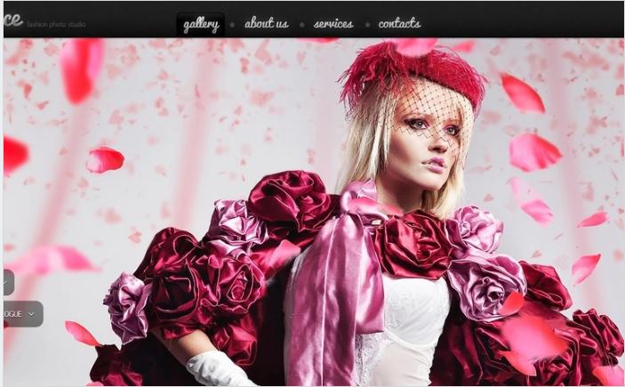 Photo Studio PSD Template