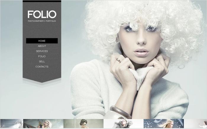 Photography PSD Design Templates