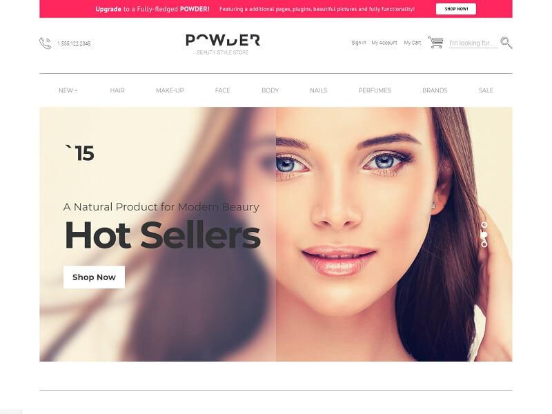 Powder Free OpenCart Themes