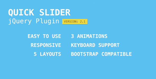 Quick Slider - jQuery gallery Plugins