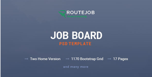 Best Job Board PSD Design Templates