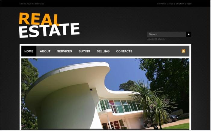 Real Estate PSD Design Templates