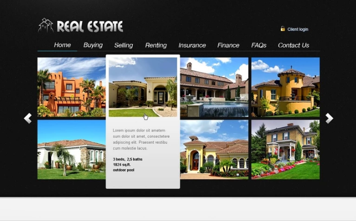 Best Real Estate PSD Design Templates