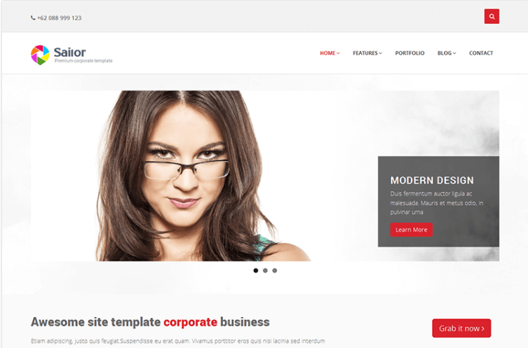Sailor – Free Bootstrap