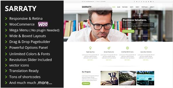 Sarraty Business - Business Theme