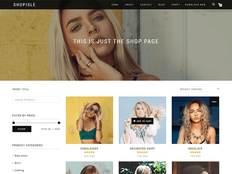 Shop Isle WooCommerce Theme for WordPress