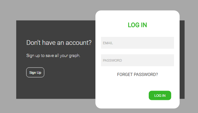 Sign up and login form