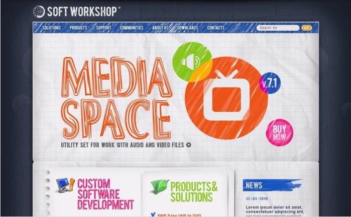 Software Company PSD Design Templates
