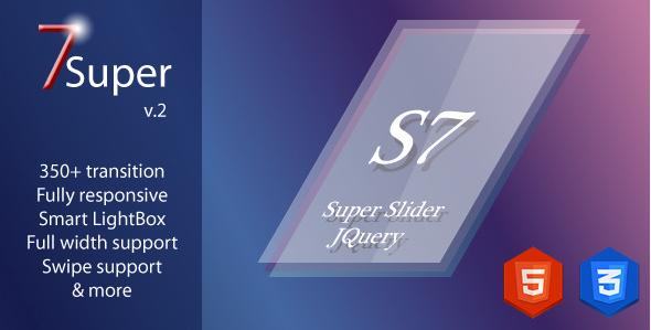 Super 7 - Responsive Image Slider