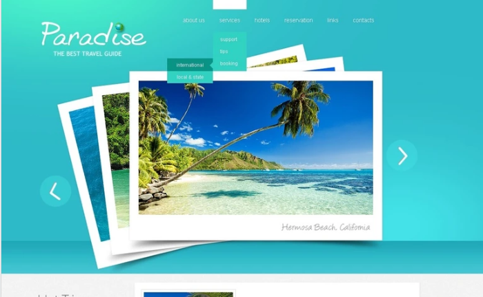 Best Travel PSD Design Templates