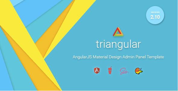 Triangular Admin Panel Templates