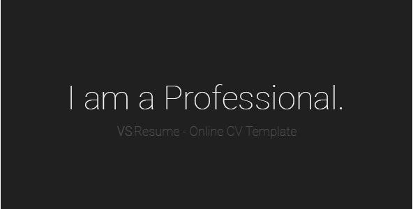 VSResume - Resume Website Templates