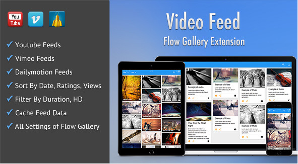 Video Feed - Flow Gallery Exension