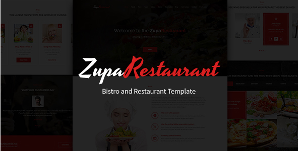 Best Restaurant PSD Desgin Templates