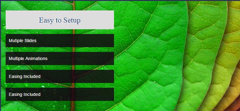 ayaSlider : Flexible jQuery slider plugin