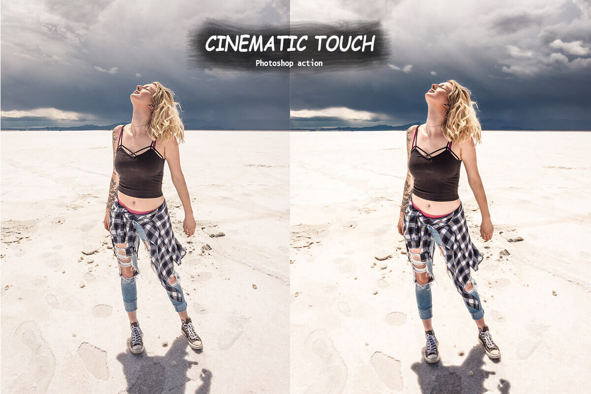 cinematic touch before and after example