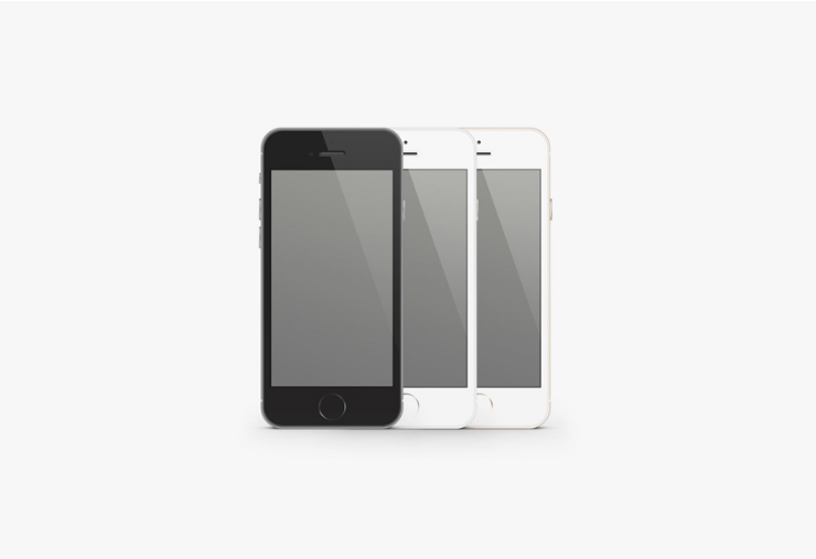 iPhone 6 PSD Template