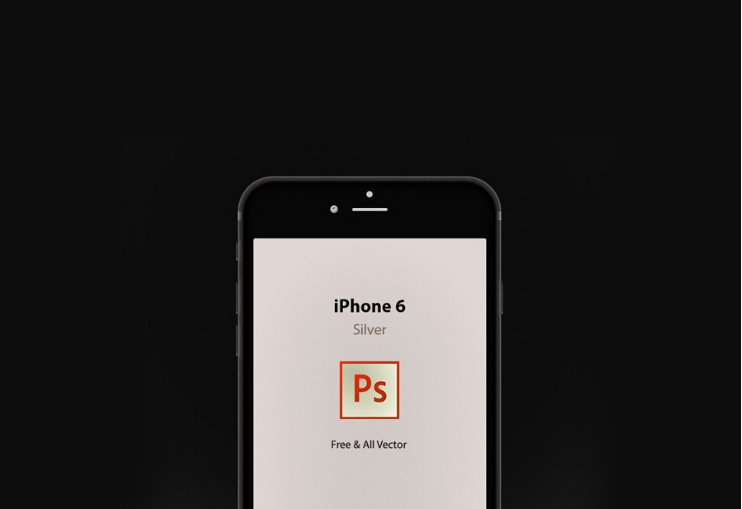 iPhone 6 Vector Mockup