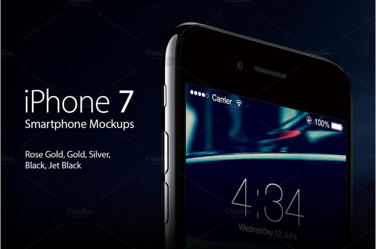 iPhone 7 Mockups Pack