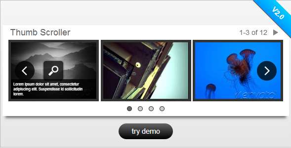 jQuery Image & Content Scroller w/ Lightbox